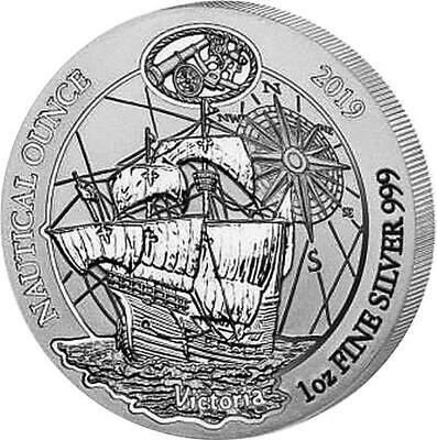 1 Once Argent Rwanda Nautique Once Hms Victoria 2019 African Once 50 Rwf Proof