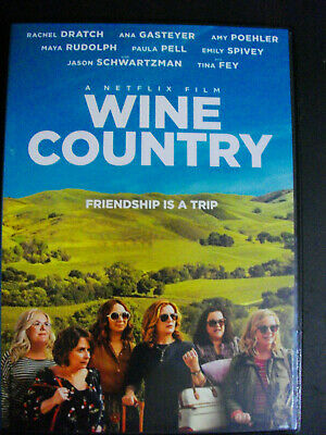 Wine Country Dvd 2019-Brand New Sealed-Ships Now