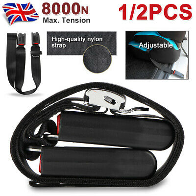 Safe Car Seat Strap For Kids Baby Install Fixed Belt Connector Isofix Latch UK