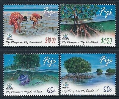 2013 Fiji Mangroves Set Of 4 Fine Mint Mnh