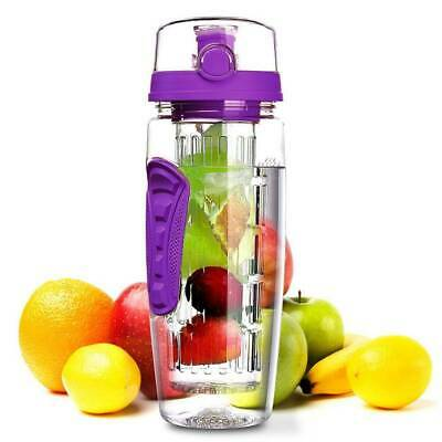 1L Fruit Infuser Water Infusing Bottle Juice Infusion Detox Drink Lemon Cup MY