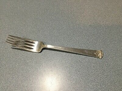 """International Silver CO TRIANON STERLING  SILVER Dinner Fork  7 7/8"""" FREE SH"""