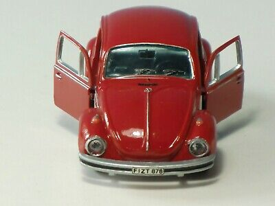 Gama-Mini VW Volkswagen 1302 Käfer rot 1:43 made in Western Germany vintage