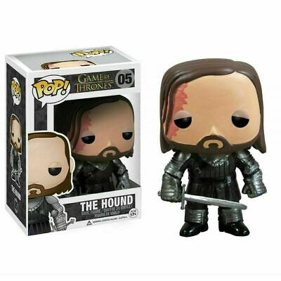 🔥New🔥 Funko Pop ! Game of Thrones The Hound Figure Vinyl Action #05 Box Gift🔥