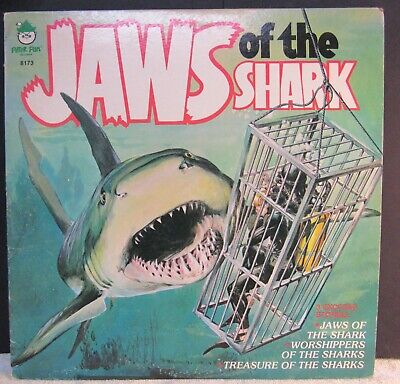 Jaws Of The Shark On Peter Pan Lables Vg+