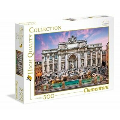 Puzzle 500 Pz - High Quality Collection - Fontana Di Trevi (2238284)