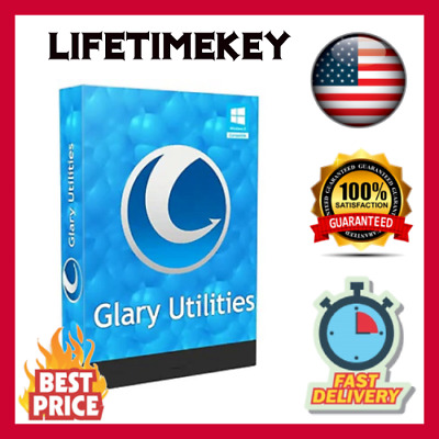 Glary Utilities Pro 5 🔑LIFETIME KEY 🔑🔥FAST DELIVERY🔥