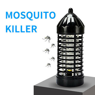 Electric LED Light Mosquito Killer Insect Grill Fly Bug Zapper Trap Catcher Lamp