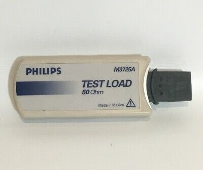 Philips M3725A 50 Ohm Test Load MRx Heartstart Defib Tester Daily Check