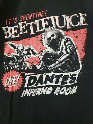 BEETLEJUICE  t-shirt FUNKO IT'S SHOWTIME! dante's inferno room Medium Size