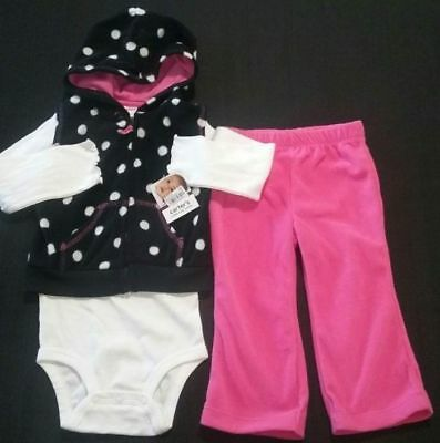 Carters Girls Black Glitter Pull On Pants 9 Months