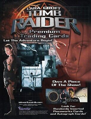 TOMB RAIDER CRADLE OF LIFE PROMOTIONAL SELL SHEET