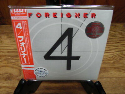 Foreigner 4 Rare Japan Obi Wpcr-12564 Collectors Audiophile Limited Edition Cd