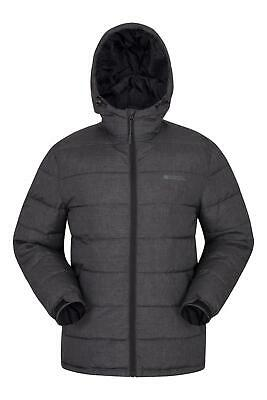 Mountain Warehouse Stalagmite Padded Jacket Water Resistant Fabric Fleece Lined