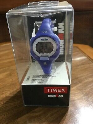 Timex Ironman Essential 10 Mid-Size Watch Blue New In Box