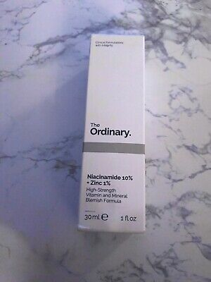 The Ordinary Niacinamide 10% + Zinc 1% High Strength Vitamin Serum Mineral 30 ml