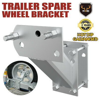 【20%OFF】Spare Wheel Carrier Bracket Type Holder Trailer Part Caravan Boat NEW