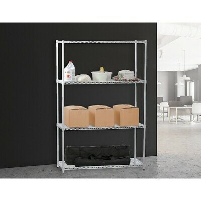 Modular Chrome Wire Storage Shelf Steel Shelving Unit
