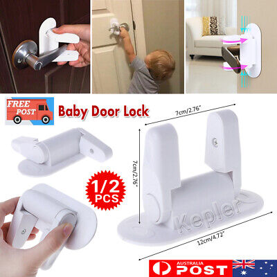 Baby Safety Home Lock Door Protection Lever Newborn Kids Children Doors Handle K