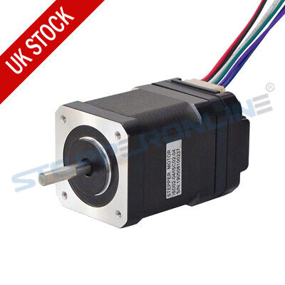 Nema 17 Integrated Stepper Motor Schrittmotor 0.44Nm 1.68 A w/Driver 10-30VDC