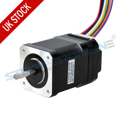 Nema17 Integrated Stepper Motor 62.32 oz-in 1.68 A w/Driver 10-30VDC ISC02-04