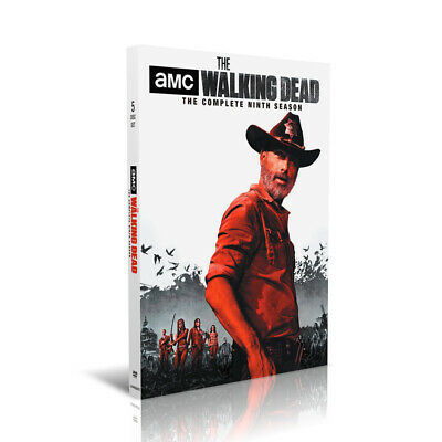 2019 The Walking Dead Complete Season 9 Dvd  Usa Seller In Stock & Shipping Now!