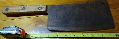 Vintage Butchers Meat Cleaver As Pictures No Brand  Nice Collectable
