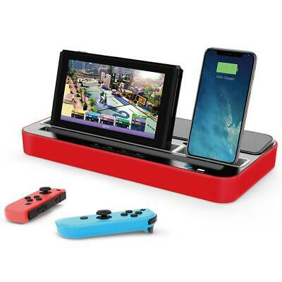 IPEGA 9119 Multi-function Charger Base Supports Switch/IOS/iPad Charger Recharge