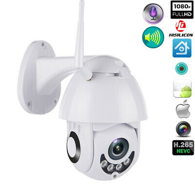 1080P Wifi Telecamera Ip Wireless Outdoor Cctv Hd Home Security Ir 5X Zoom