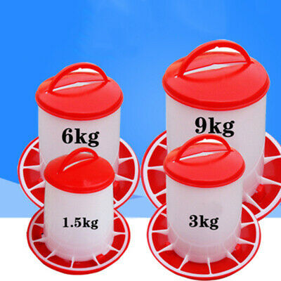 Feeder Drinker For Chicken/Poultry/Chick/Hen Food And Water Accesories Supplies