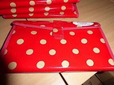 BNWT Cath Kidston Red spotty folding changing mat
