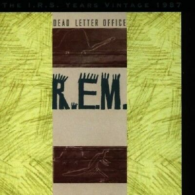 R.E.M. Dead Letter Office-The I.R.S. Years Vintage 1987 CD NEW SEALED REM