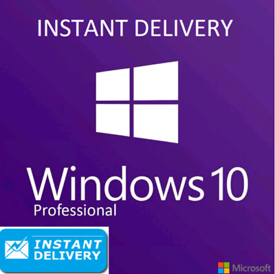 MS Windows 10 Pro activation key genuine license 32/64 bit INSTANT Delivery