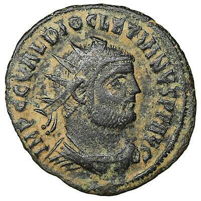 Diocletian Follis old ancient roman coin Rome Empire Imperial Coins Authentic