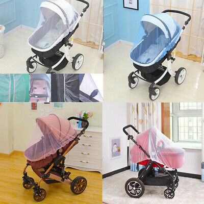 Universal Baby Kids Stroller Pushchair Anti Mosquito Fly Insect Net Mesh Cover