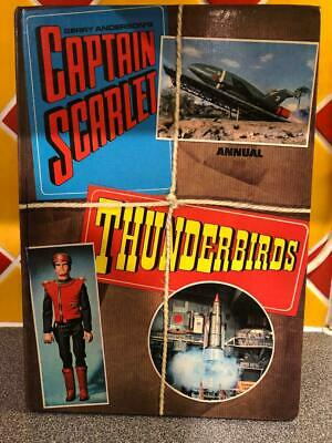 CAPTAIN SCARLET & THUNDERBIRDS ANNUAL 1969 Gerry Anderson