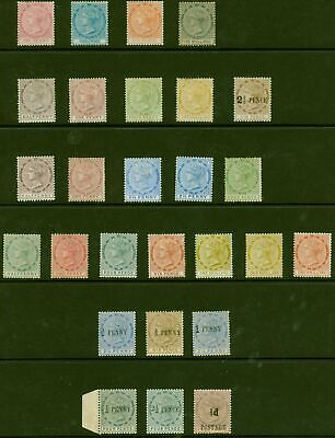 Tobago Mint Stamp Collection of the early Issues 1879-96