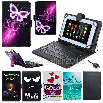 For HUAWEI Mediapad T5 10 inch Tablet 2018 Leather Stand Case USB Keyboard Cover
