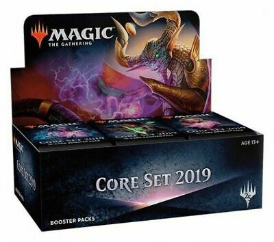 Magic: The Gathering Core Set 2019 (M19) Booster box factory sealed free ships