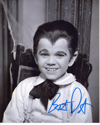 Butch Patrick The Munsters Eddie Munster Signed 8X10 Photo W/Coa