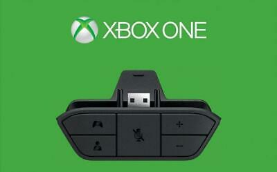 Official Microsoft Xbox One Stereo Headset Controller Adapter Genuine Original