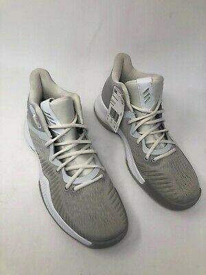 ADIDAS MAD BOUNCE GreyFTW WhiteGrey Men's Basketball Shoes