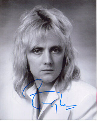 "Roger Taylor 'Queen Drummer"" Signed 8X10 Photo W/Coa"