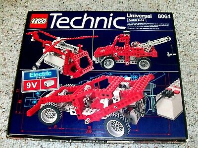 LEGO TECHNIC FORKLIFT and Race Car Speeder - 8290 complete