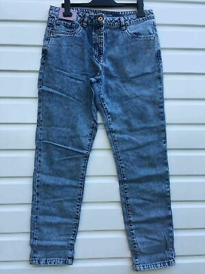 Women`s New NEXT High Waist Relaxed Jeans Size 14 Regular Leg Boyfriend