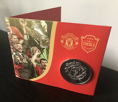 Manchester United - Limited Edition Commemorative Coin - Treble Season 1998/1999
