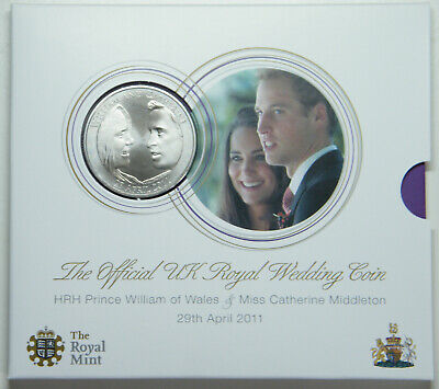 2011 Five Pounds Coin in Royal Mint Pack
