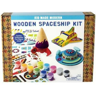 Wooden Spaceship Kit - Kid Made Modern Free Shipping!