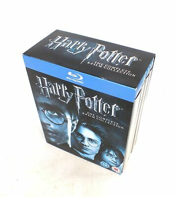 HARRY POTTER The Complete 8 Film Collection Blu Ray Disk BOX SET  - N13