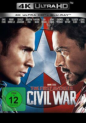 The First Avenger: Civil War - 4K Ultra HD # UHD+BLU-RAY-NEU